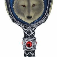 1pc Game of Thrones White Wolf Wine Goblet Gift Boxed
