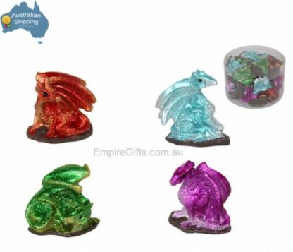 24pc Miniature Dragon Statues Game of Thrones Collectable