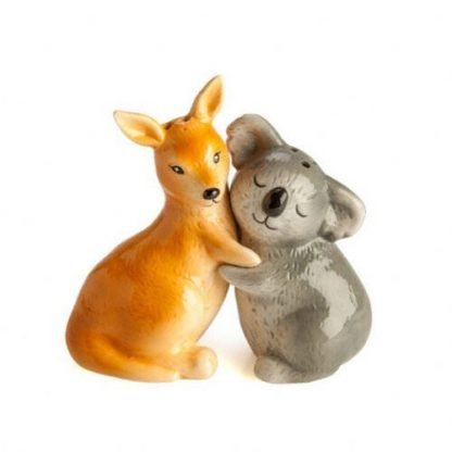 2pc Australian Kangaroo & Koala Salt and Pepper Set