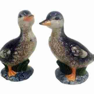 2pc Vintage Duck Design Salt & Pepper Shaker Set Collectable
