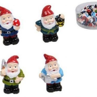 36 Miniature Gnome Figurine Fairy Garden or Cake Decoration