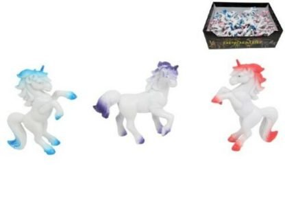 6 x Mini Unicorn Figurine Birthday Party Favour Treat Bag or Fairy Garden