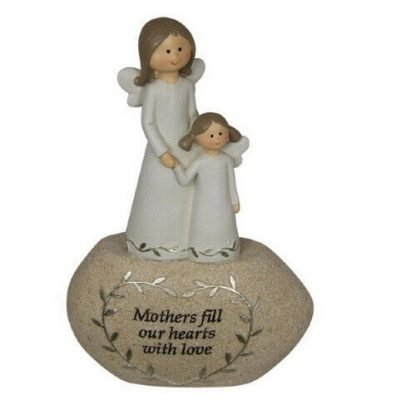 Angel Mum Mothers Fill Our Hearts With Love Statue Figurine