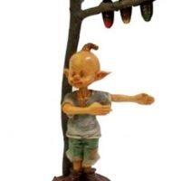 Elf Giving Directions Pixie Figurines Fairy Garden Statue Collectable
