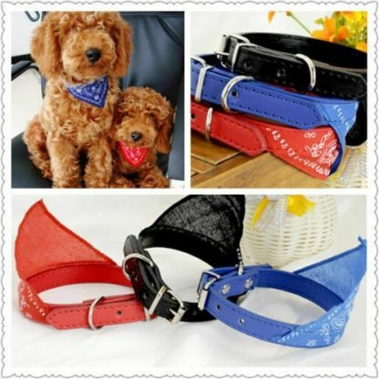 1 x Dog Bandanna Pet Collars Scarves Cat / Dog Accessories