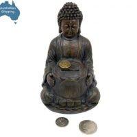 Elegant Garden Rulai Buddha & Lotus Wealth Money Box