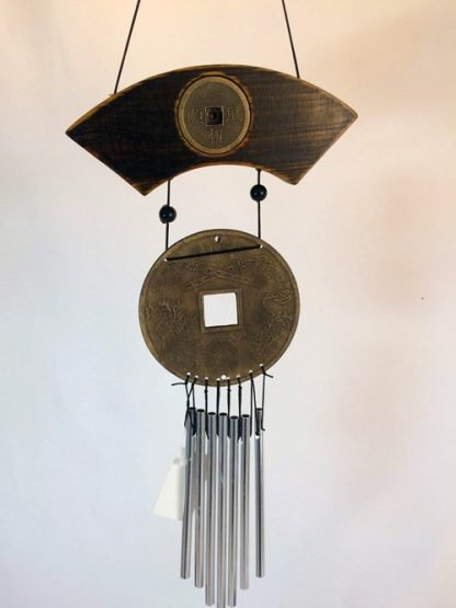 Feng Shui Chinese Wealth Money Coin Hanging Wind Chime