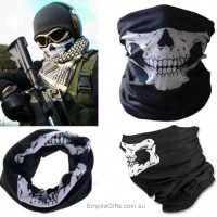 1pc Skull Face Mask Bandanna Skeleton Motorcycle Biker Paintball Mask Scarf
