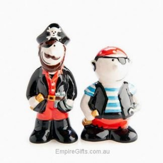 2pc Pirate Salt and Pepper Shaker Set