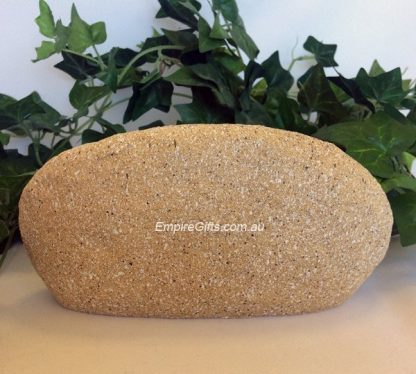 1pc Pet Memorial Rock Stone Grave Plaque Garden
