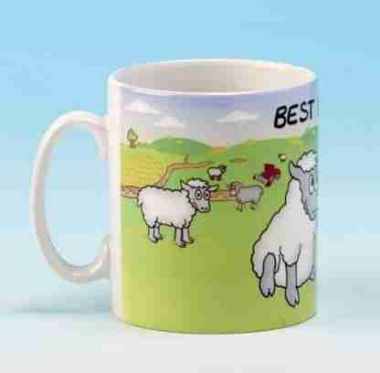 "Coffee Mug ""Best Mates"" Ceramic Cup"