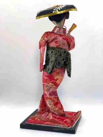 1pc Japanese Traditional Kimono Doll Geisha Figurine Collectable