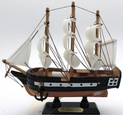 Ship USS Constitution wood model