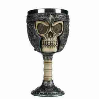 skull gladiator goblet