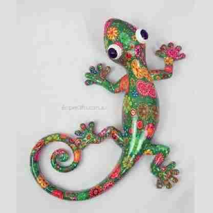 green floral Lizard Gecko
