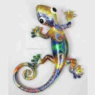 1 x 25cm Lizard Gecko metallic shine
