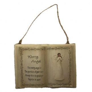 1pc Worry Angel Hanging Plaque Memorial