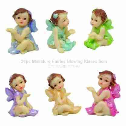 24pc Miniature Fairy Garden Figurine 3cm