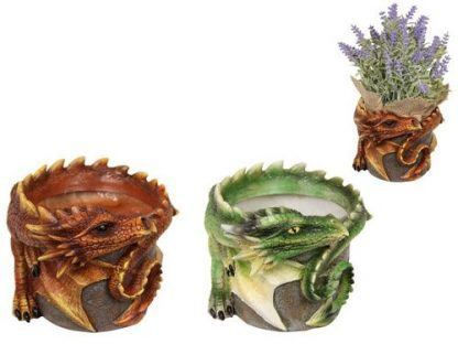 2pc Dragon Flower Pot Plant Holder