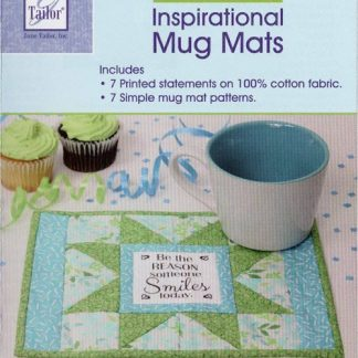 June Tailor Inspirational Mug Mats
