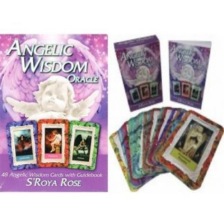 Angelic Wisdom Oracle with Guide Book SRoya Rose