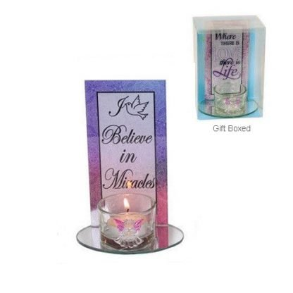 angel candle Miracle quote