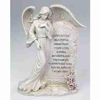 22cm Standing Inspirational Angel Plaque Spiritual Home Décor