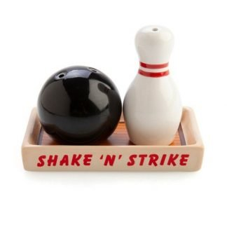 2pc Ten Pin Bowling Salt & Pepper Shakers Collectable