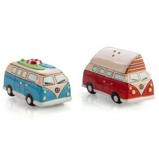 2pc Retro Combi Van Salt & Pepper Shakers Collectable