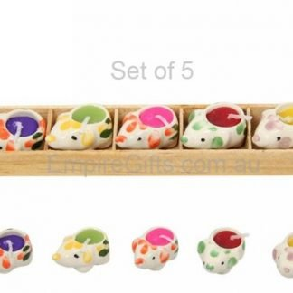 Cute Elephant Candles Gift Set 5