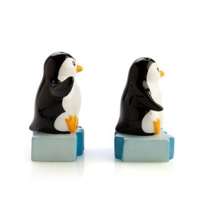2pc Penguins on Iceberg Salt & Pepper Shaker Set