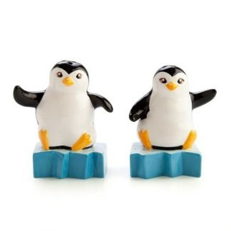 2pc Mr & Mrs Penguin Salt & Pepper Shaker Set