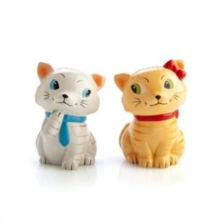2pc Tabby Cats Salt & Pepper Shakers Collectable