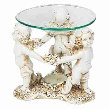 Cupid Angels Oil Burner Candle Holder Fragrance Wax Melts
