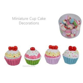 24 x Miniature Cup Cake Decoration Doll House or Cake Decoration