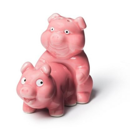 2pc Naughty Pigs Salt & Pepper Shakers Collectable