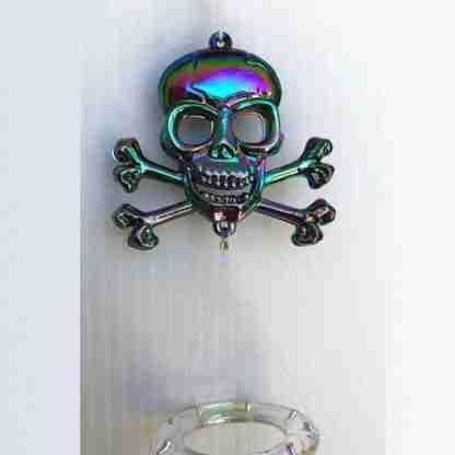 1 x Skull Skeleton Wind Chime Garden Hanging Mobile