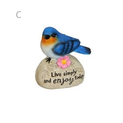 Bird Wren on a Rock Inspirational Sayings 3 Designs or SET of 3