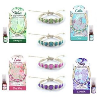 Essential Oil Wellness Bracelets