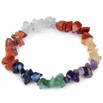 Chakra Bracelet Gemstone Chip Bracelet Healing & Balancing