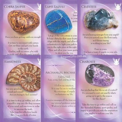 Archangels and Gemstone Guardians Cards Oracle Cards