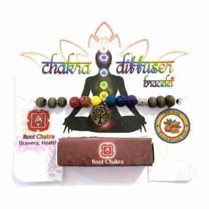 Chakra Oil Diffuser Bracelet