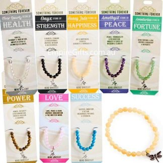 Gemstone Bead Bracelet Something Forever Wishstone Collection