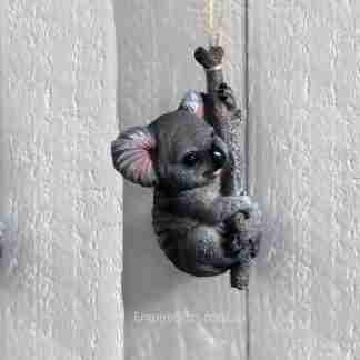 Koala On Branch Hanging Rope Garden Koala Statue