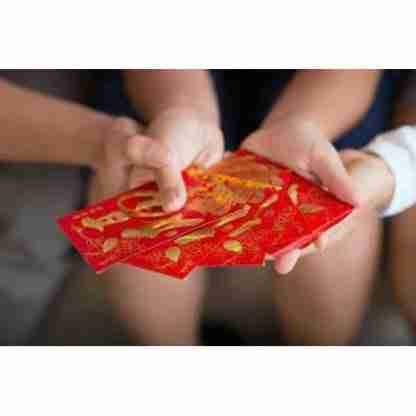 Chinese Red Envelope Hong Boa Good Luck & Prosperity