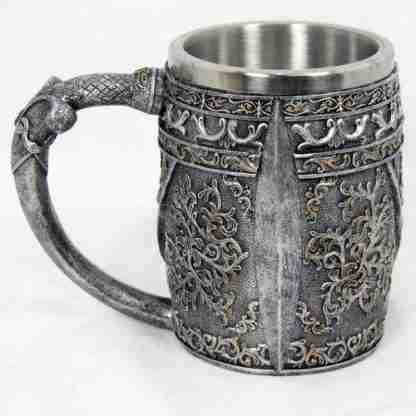 Skull 3D Mug Gothic Medieval Viking Mug