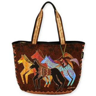 Designer Handbag Laurel Burch Native Horses