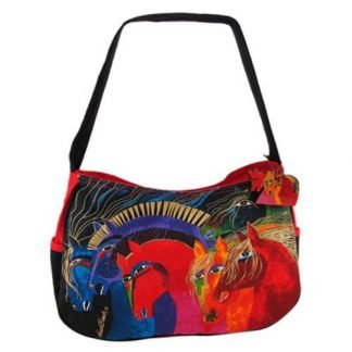 Designer Handbag Laurel Burch Wild Horses Of Fire