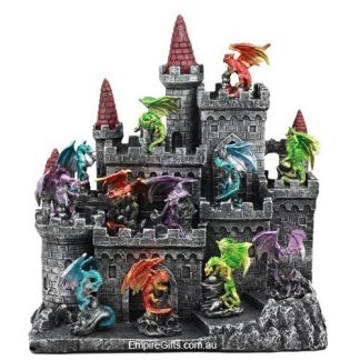 Game Of Thrones Kings Landing Castle with Dragons set
