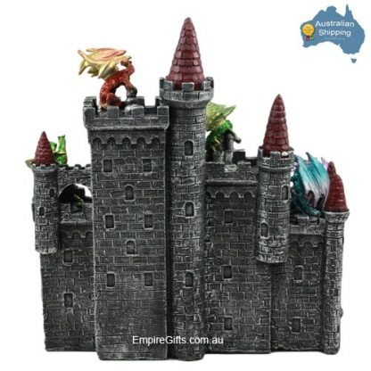 49pc Game Of Thrones Kings Landing Castle with Dragons SET